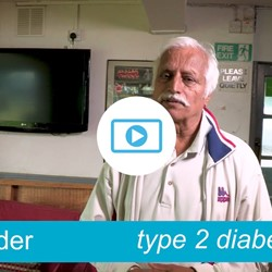 Image for Surinder - type 2 diabetes, comes off his medication